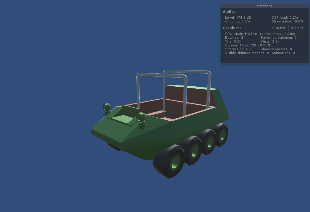 Scout Car in Unity